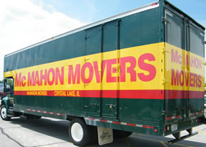 McMahon Movers truck photo